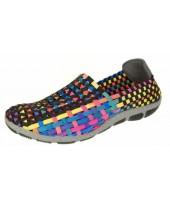 Layla Adesso Tutti Frutti Black Shoe A2808